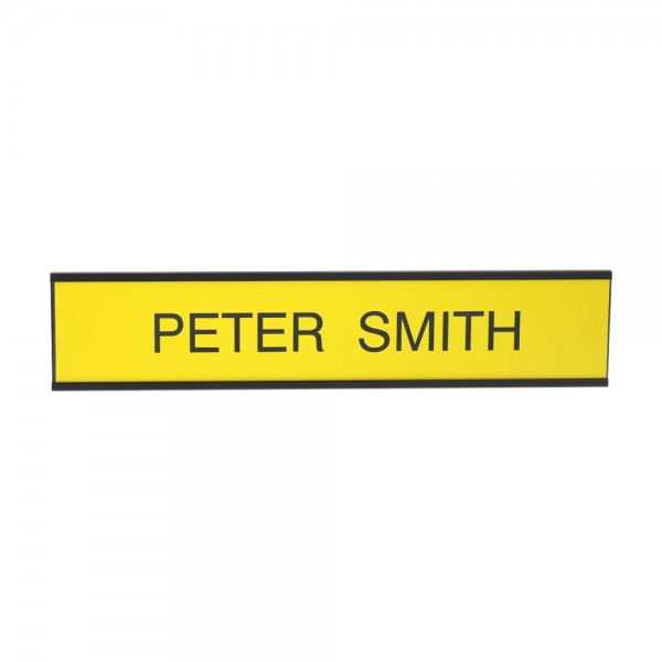 """Custom Engraved Sign- Traditional 2"""" x 10"""""""