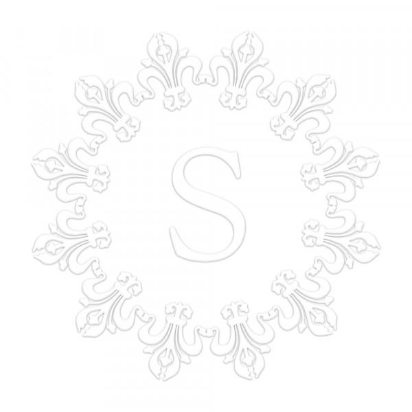 Pince à Gaufrer Monogramme Ronde- Royal > Monogramme